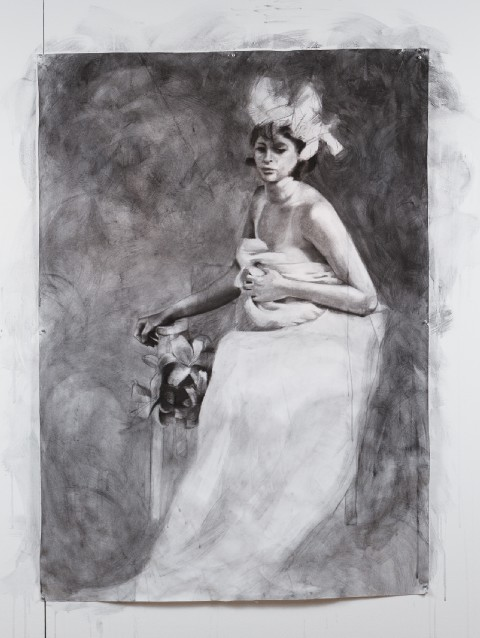 2012. Charcoal and Graphite on Paper.
