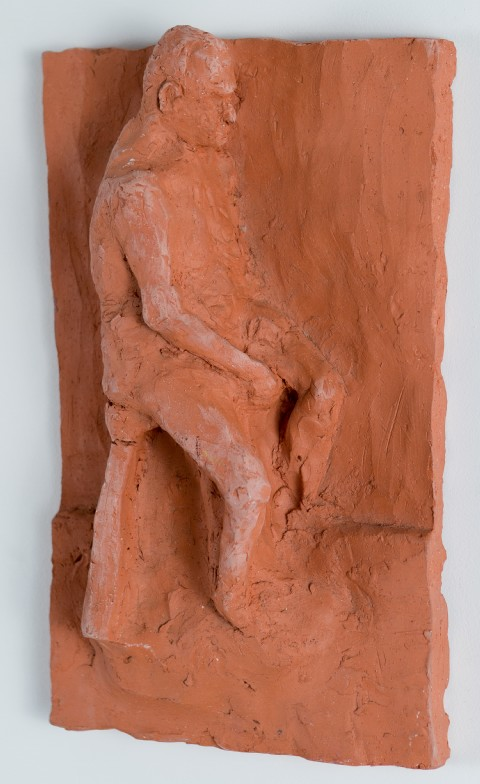 2000. Clay. 7.5 x 11.5 inches