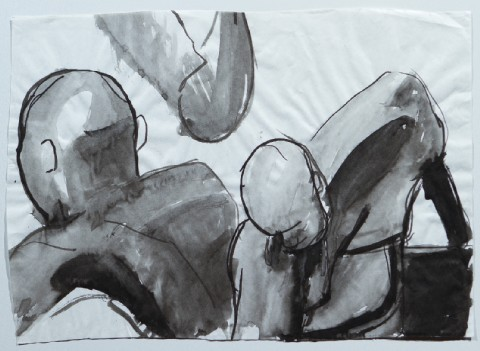 2005. Ink on Paper. 18 x 13 inches