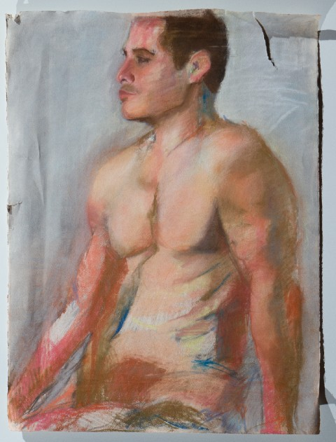 2005. Pastel on Paper.