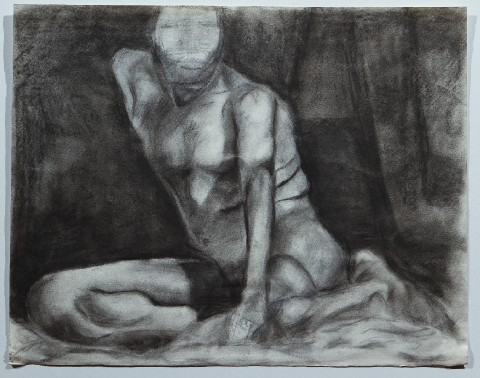 2000. Charcoal on Paper.