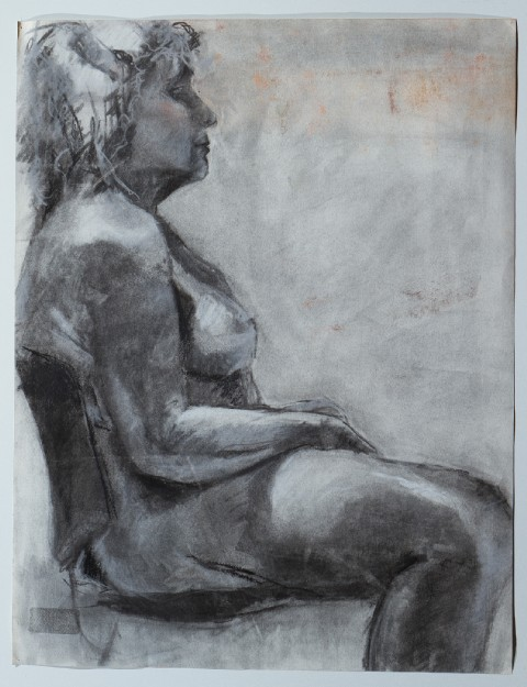 2005. Charcoal on Paper.