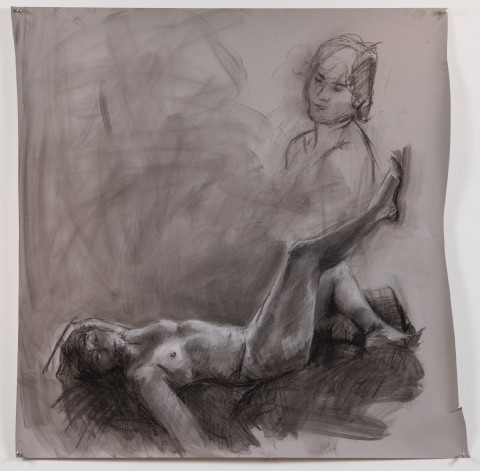 2010. Charcoal on Paper.