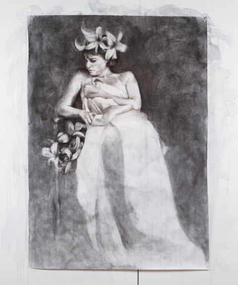 2012. Charcoal and Graphite on Paper
